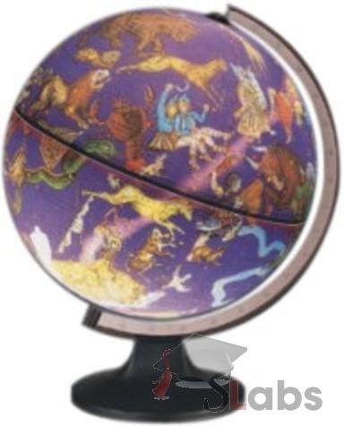Constellation Globe (Lit Position) - Scholars Labs
