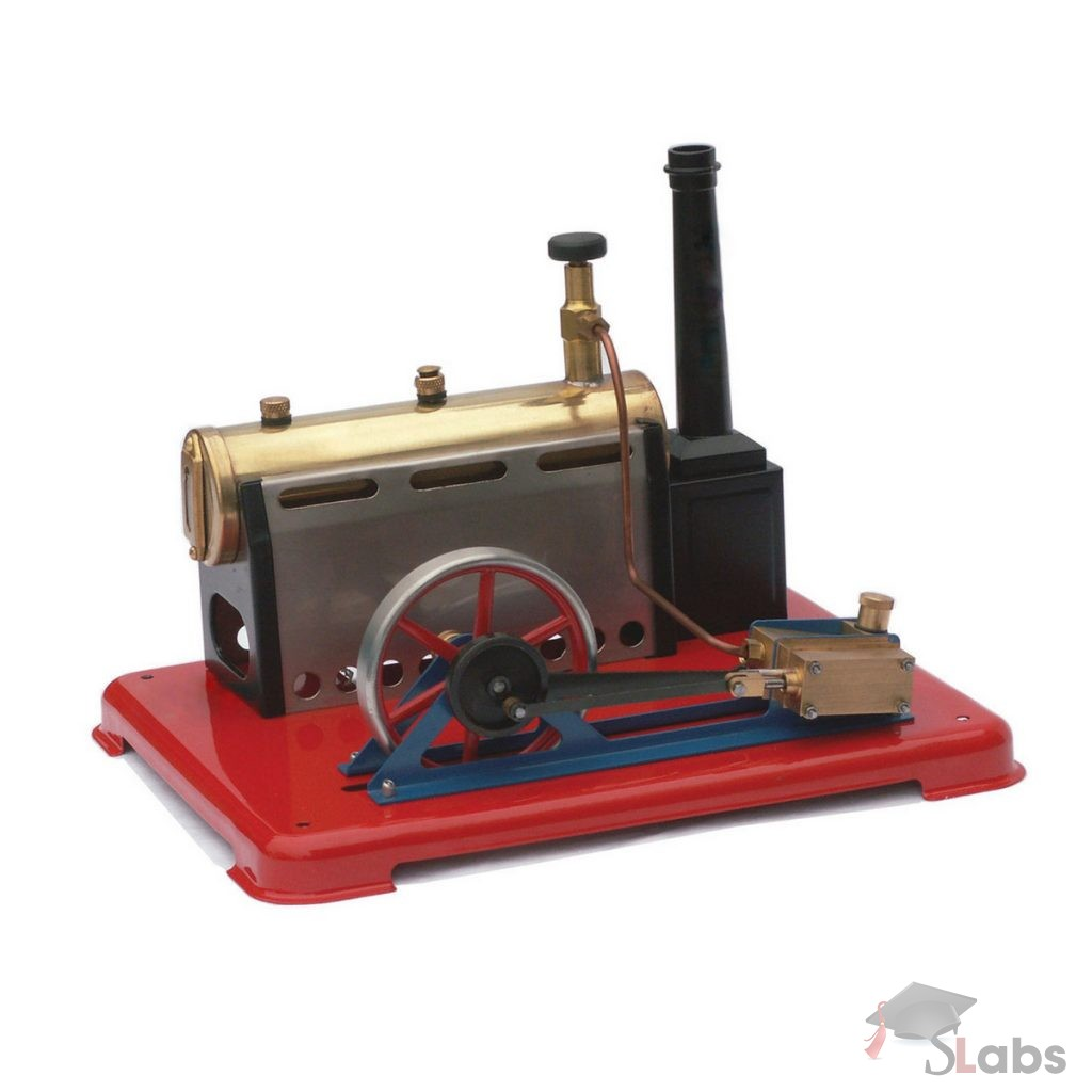 Steam Engine Model With Boiler - Scholars Labs